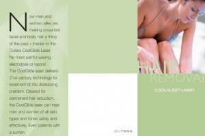 Cutera CoolGlide Laser Hair Removal Brochure