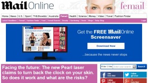 Mail Online - New Pearl Laser