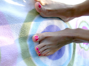 Healthy toenails